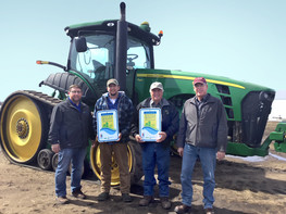 Andrew Schock  farm in Wadena County, certified for water quality