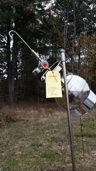 Air monitoring device at Water Gremlin