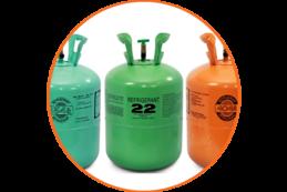 Refrigerant container
