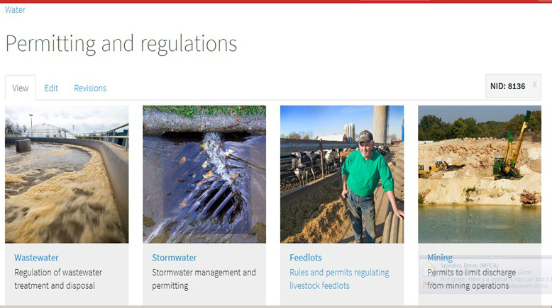 feedlot web page