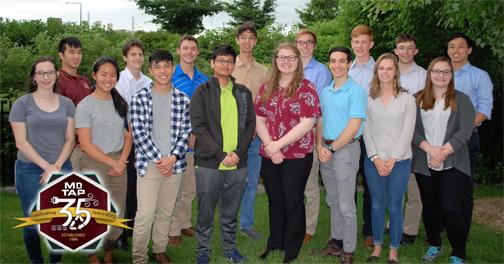 Group of MnTAP 2019 interns