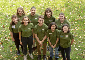 GreenCorps air program members