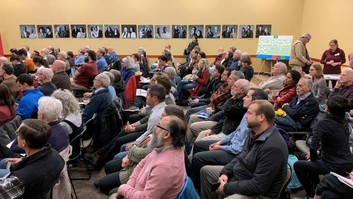 Public meeting in Minneapolis