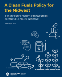 Cover image for Midwestern Clean Fuels Initiative white paper