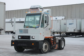 All-electric terminal tractor