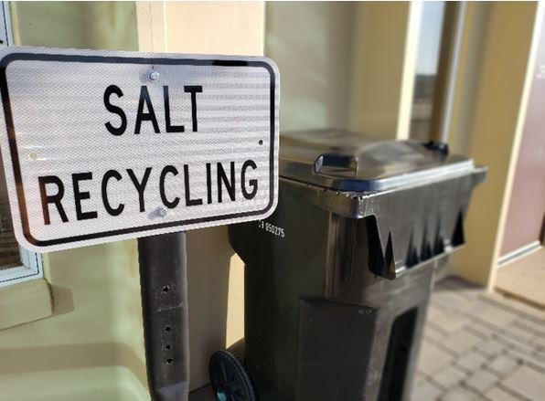 Salt recyling