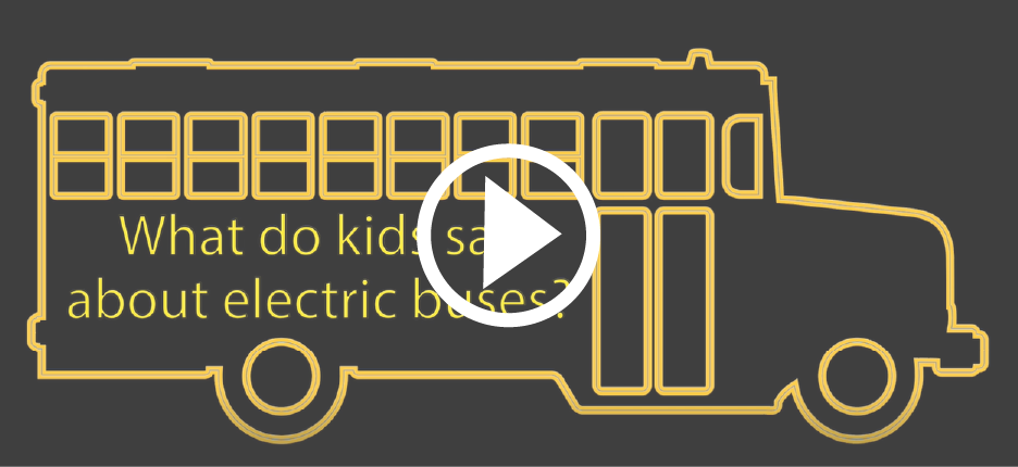 Electrci school bus video still
