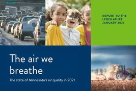The air we breathe report cover