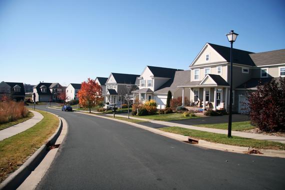 Neighborhood in Plymouth