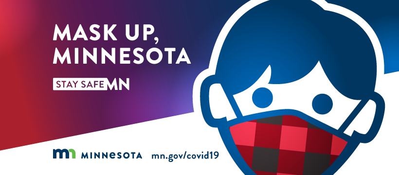 Mask Up, Minnesota graphic