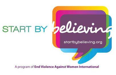 Start by Believing Logo