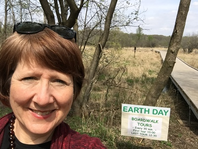 mary jo at roseville earth day