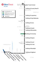 A Line Route