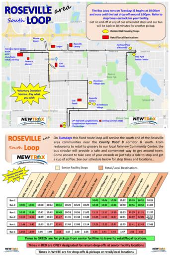 Roseville South Bus Loop