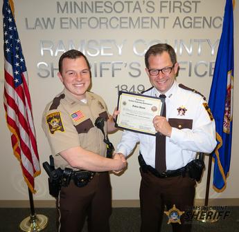 MSA Award Deputy Josh Adams