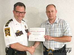 Norstrem 25 year service award