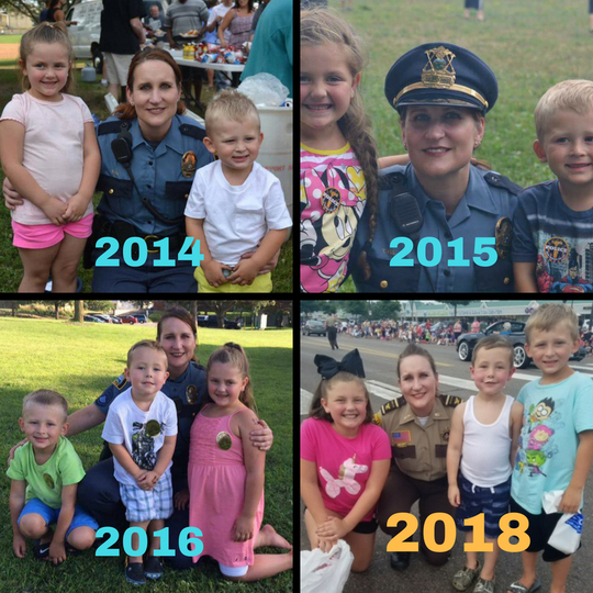 Kill and kids through the years canva graphic