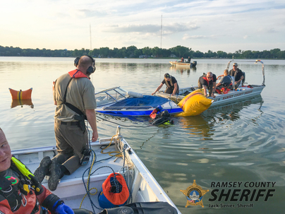 Dive Team boat recovery 2018