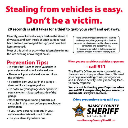 Theft from Auto PSA