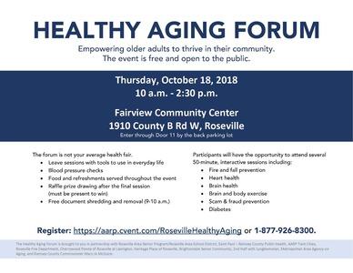 Healthy Aging Forum