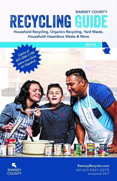 2019 Recycling Guide Cover