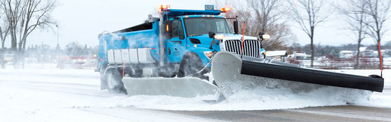 Ramsey County plow truck.