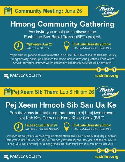 Hmong community gathering