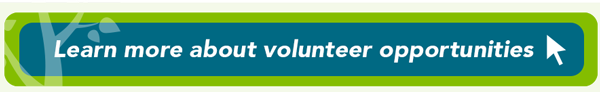 Learn more about volunteer opportunities button leading to website for more information.