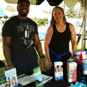 County staff at Rondo Days