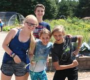 kids at Tamarack Nature Center