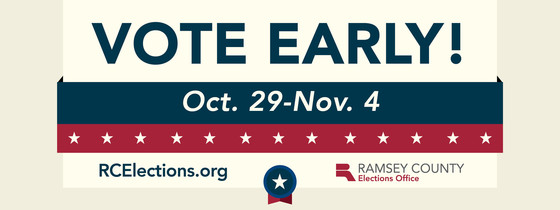 early voting banner
