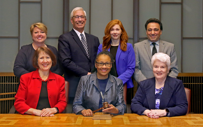 Ramsey County Board of Commissioners 2020 group portrait