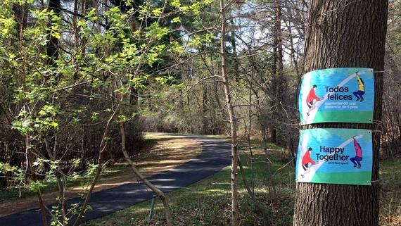 Tree Hug Public Art