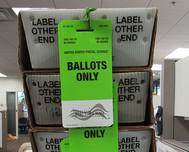 ballots in box