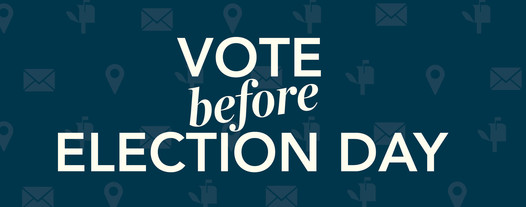 vote before election day