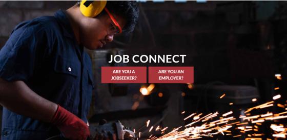 Job connect dashbaord