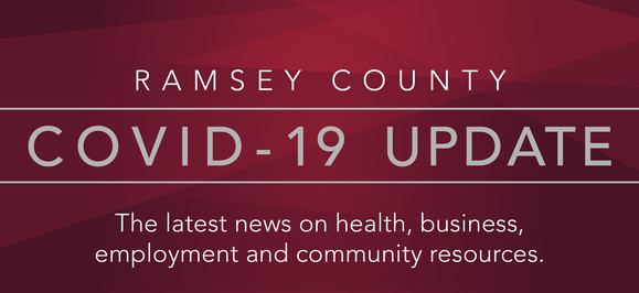 COVID-19 newsletter banner for county residents.