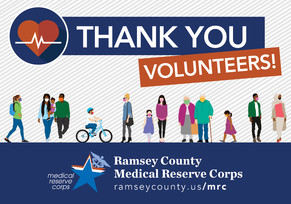 Medical Reserve Corps thank you!