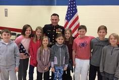 veteran with kids