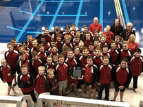 boys swim and dive