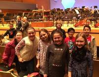 fourth graders visit orchestra hall