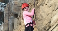 rock climbing at Base Camp