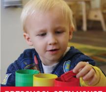 preschool open house flyer