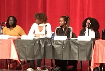black history month girls of color panel
