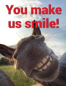 Make us smile