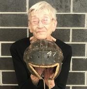 1922 football helmet