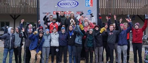 SAHS mountain bike team 2019