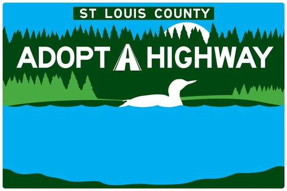 Adopt A Highway sign template