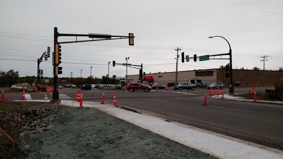 Haines intersection signal work