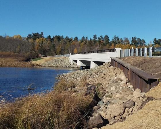 Hwy 88 new bridge